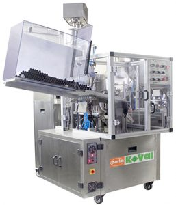 Tube Filling and Sealiing Machine PK 30 AL - A, Aluminum Tube Filling and Sealing Output: 45 tubes per minute