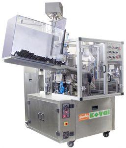 Tube Filling and Sealiing Machine PK 30 AL - A, Aluminum Tube Filling and Sealing Output: 45 tubes per minute