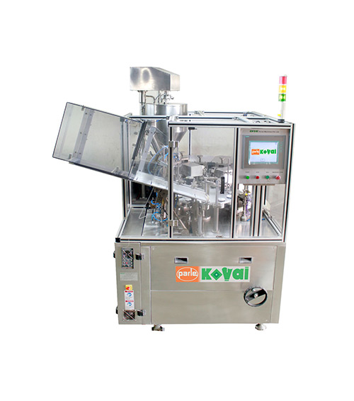 The PK 60 AL – A is the next generation of aluminum tube filling machines. It is very cost effective filler providing several features. The design of the machine is ergonomic, easy to handle and maintain for operators. It incorporates a full-size opening of the front guard with excellent access for maintenance and change-over and an improved tube orientation system that guarantees even better accuracy. The machine is mainly mechanical and therefore, easy to operate and maintain.
