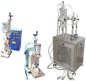 Tube Filling and Sealing machine. Perfume 2 head filing system, Vacuum filling system, Flame proof motor & starter, Contact parts: SS 316 L, Excess Perfume will be drain by Foot Switch, Non Return Valves provided with inlet pipe of both filling nozzle, Bottle holding platforms provided with Spring Loaded System for better filling efficiency