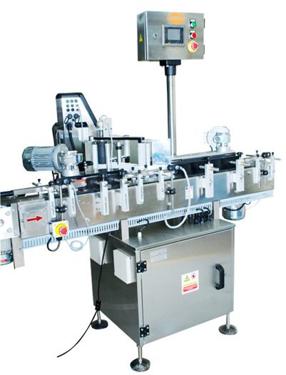 Bottle Packaging Labelling Machine for printing and attaching labels to the bottles