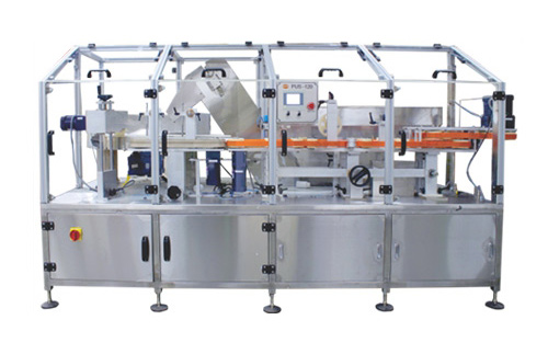 Bottle Unscrambler - PLC controlled system with touch screen HMI. Can Handle HDPE and Plastic containers