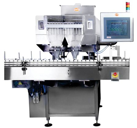 PMC-60 12 Track High Speed Multi Channel Counter Bottle Filler Output : 60 bpm Counter/Bottle Filler, Counter & Bottle Filler, Counter&Bottle Filler, Counter and Bottle Filler