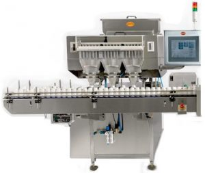 PMC-80 Multi-Channel Counter Bottle Filler - 18 Track High Speed Multi Channel Counter Output : 120 bpm Counter/Bottle Filler, Counter & Bottle Filler, Counter&Bottle Filler, Counter and Bottle Filler