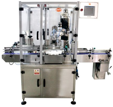 PSC-60 Bottle Capping Machine, Single Head, CRC Type, Press-On Caps, ROPP Caps