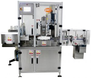 PSC-61 Single Head Screw Capping Machines, Taper Profile CRC and Screw Caps