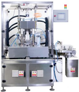 PSC-62 Bottle Capping Machine, Single Head Press and Screw Combi Capping Machine