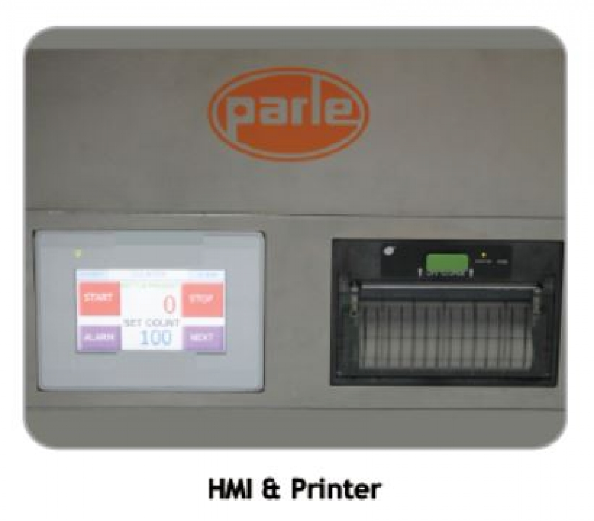 Count Verification Machine with hmi-and-printer